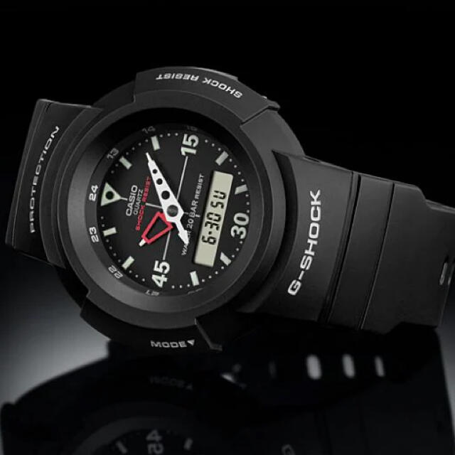 G-SHOCK(ジーショック)のCASIO G-SHOCK AW-500E-1EJF デジアナ 新品未使用 メンズの時計(腕時計(アナログ))の商品写真