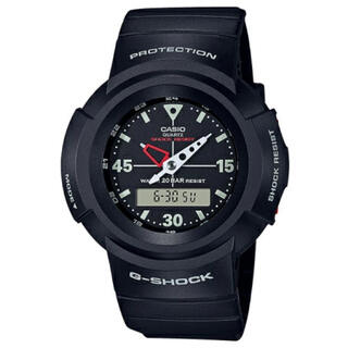G-SHOCK - CASIO G-SHOCK AW-500E-1EJF デジアナ 新品未使用