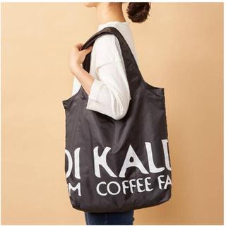 KALDI - カルディ エコバッグ 黒【新品未使用タグ付き】