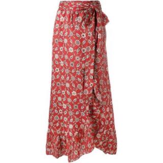 イザベルマラン(Isabel Marant)のイザベルマランエトワール リネン巻きスカート(ロングスカート)