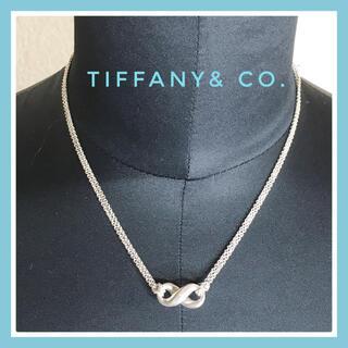 Tiffany & Co. - 永遠の愛♡ティファニー インフィニティ ネックレス 美品