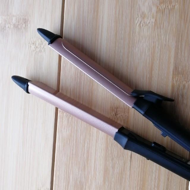 2WAY ヘアアイロン 28mm スマホ/家電/カメラの美容/健康(ヘアアイロン)の商品写真
