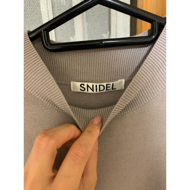 snidel(スナイデル)の♡2021年S S♡snidel♡パフスリニットプルオーバー♡ レディースのトップス(ニット/セーター)の商品写真