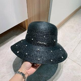 miumiu - miumiu 麦わら帽子。