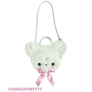 Angelic Pretty - 【Angelic Pretty】Milkyベアーフェイス3wayバッグ〈シロ〉