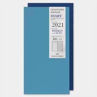 トラベラーズノート 手帳 リフィル 2021年 A5スリム ウィークリー