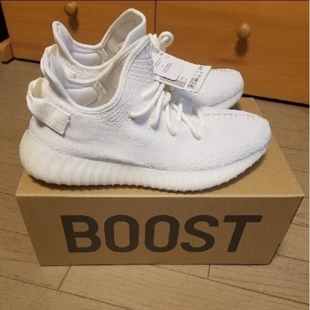 adidas(アディダス)の28.5 adidas YEEZY BOOST350 V2 WHITE メンズの靴/シューズ(スニーカー)の商品写真