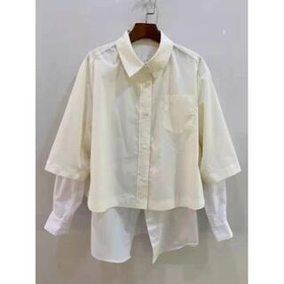 サカイ(sacai)のSacai サカイ シャツ/ブラウス 長袖 2点セット サイズ M(シャツ/ブラウス(長袖/七分))