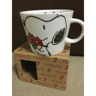 スヌーピー(SNOOPY)のスヌーピー 大きいマグカップ(グラス/カップ)