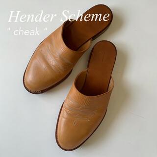 Hender Scheme - HenderScheme エンダースキーマ cheak チーク レザーサンダル