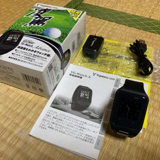 ユピテル(Yupiteru)のユピテル 腕時計型 ゴルフナビ YG - Watch Advance(その他)