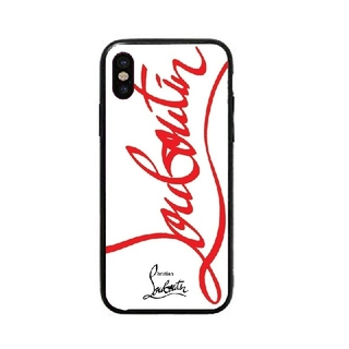 Christian Louboutin - クリスチャンルブタン ガラスケース iPhoneケース q6kw.uh