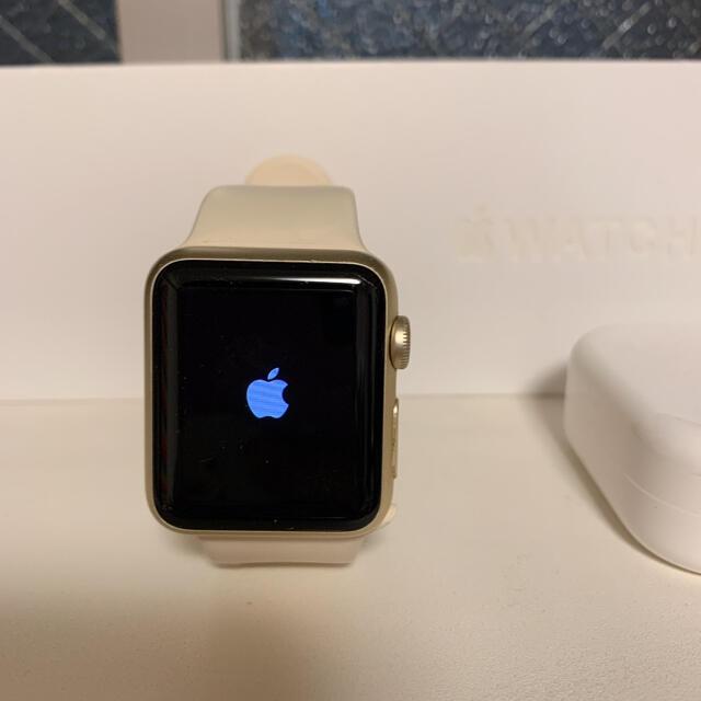 Apple Watch(アップルウォッチ)の限定値下げ!Apple Watch 38mm GPSモデル レディースのファッション小物(腕時計)の商品写真