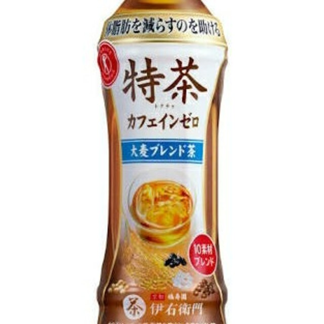 48本 送料無料 特茶 カフェインゼロ 大麦  500ml 特選黒烏龍茶より良 食品/飲料/酒の健康食品(健康茶)の商品写真