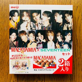 セブンティーン(SEVENTEEN)のSEVENTEEN☆マカダミアナッツ☆ポストカード(アイドルグッズ)