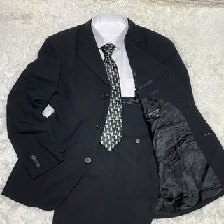 メンズティノラス(MEN'S TENORAS)のメンズティノラス セットアップスーツ Mサイズ 3つボタン ブラック(セットアップ)