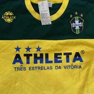 ATHLETA - 新品未使用 タグ付き アスレタ tシャツ   Lサイズ サッカー フットサル