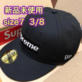 """シュプリーム(Supreme)のsupreme チャンピオン ボックスロゴ ニューエラ """"ブラック""""(キャップ)"""