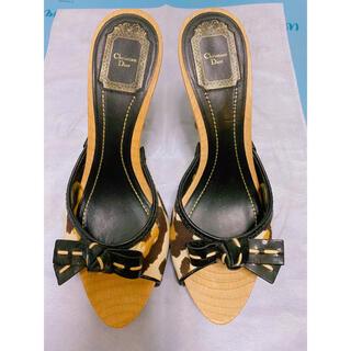 クリスチャンディオール(Christian Dior)のクリスチャンディオール  ミュール(ミュール)