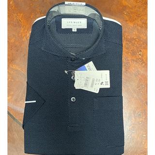 アオキ(AOKI)の半袖 ノンアイロンビズニットシャツ LES MUES 品番:BIS631100(シャツ)