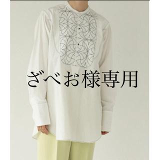 TODAYFUL - todayful キルティングドレスシャツ ホワイト