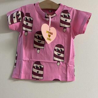 コドモビームス(こども ビームス)のHUGO♡TIKI 90.95 ☺︎アイス柄Tシャツ ミニロディーニ好きに(Tシャツ/カットソー)