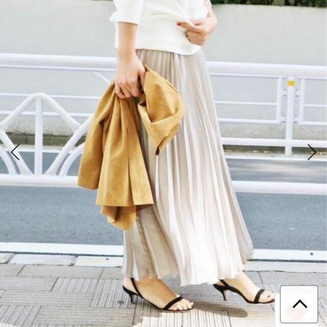 IENA(イエナ)のイエナ プリーツスカート レディースのスカート(ロングスカート)の商品写真
