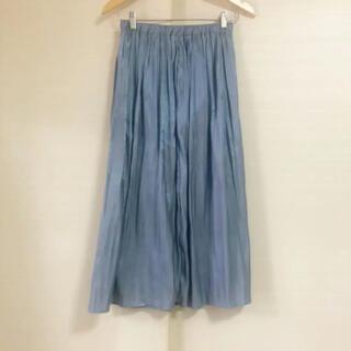 レイカズン(RayCassin)の新品同美品 レイカズン サテンロングスカート(ロングスカート)