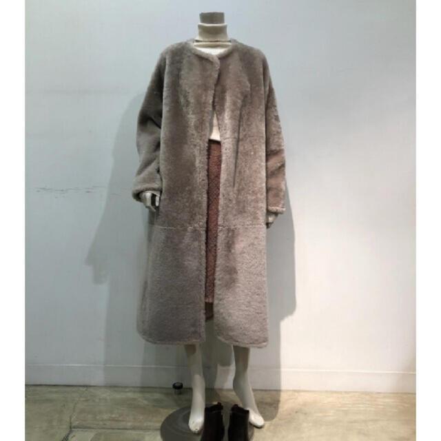 Ron Herman(ロンハーマン)のebure ムートンコート レディースのジャケット/アウター(ロングコート)の商品写真