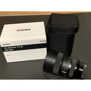 SIGMA - 【美品】SIGMA 14-24mm F2.8 DG DN Artレンズ