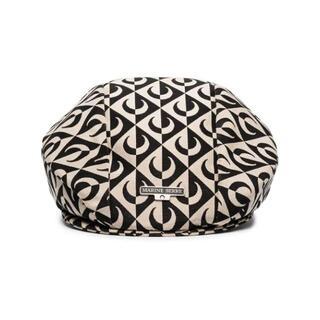 テミン着用★Marine Serre Moon Lozenge ムーン ベレー帽