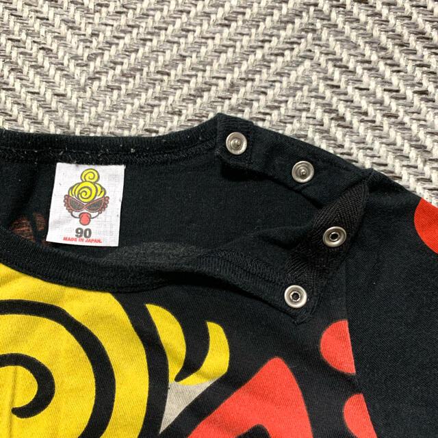 HYSTERIC MINI(ヒステリックミニ)のヒスミニ ☆ 黒ロンT ☆ 90cm キッズ/ベビー/マタニティのキッズ服男の子用(90cm~)(Tシャツ/カットソー)の商品写真