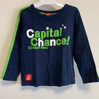 BABYDOLL - ベビードール 長袖Tシャツ Tシャツ カットソー 長袖 110cm