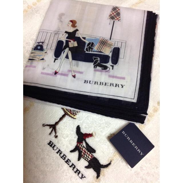 BURBERRY(バーバリー)のBurberry バーバリー ハンカチ レディースのファッション小物(ハンカチ)の商品写真