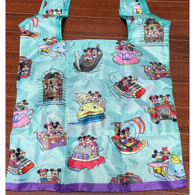 Disney(ディズニー)のディズニー カプセルトイ エコバッグ エンタメ/ホビーのおもちゃ/ぬいぐるみ(キャラクターグッズ)の商品写真