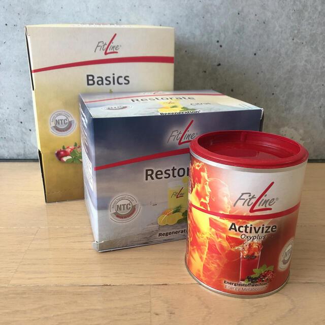 (訳あり)セルエナジーベーシック3種セットFitLine フィットライン 酵素  食品/飲料/酒の健康食品(ビタミン)の商品写真