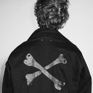 ダブルタップス(W)taps)の希少【m】WTAPS × MINEDNEIM M-65 Field Jacket(ノーカラージャケット)