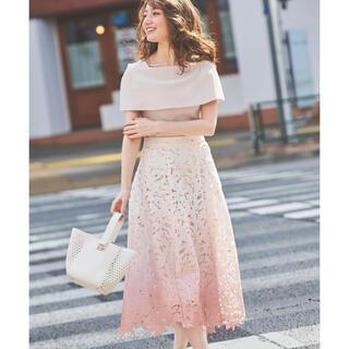 Noela - グラデーションレーススカート