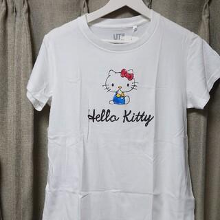 UNIQLO - 新品 タグ付き UNIQLO キティちゃん コラボTシャツ