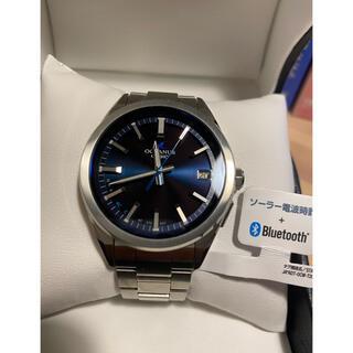 CASIO - ほぼ新品[カシオ] 腕時計 オシアナス Bluetooth 搭載 電波ソーラー