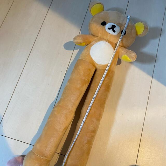 サンリオ(サンリオ)のリラックマ ブーツキーパー エンタメ/ホビーのおもちゃ/ぬいぐるみ(キャラクターグッズ)の商品写真