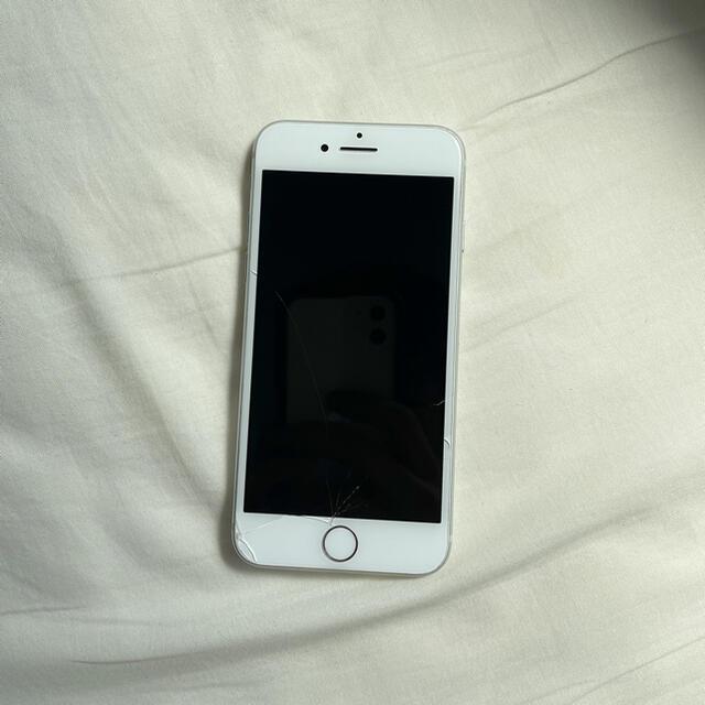 Apple(アップル)のiPhone8 64GB 本体 Simフリー 中古品 傷あり 動作確認済み  スマホ/家電/カメラのスマートフォン/携帯電話(スマートフォン本体)の商品写真