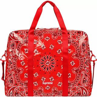 シュプリーム(Supreme)のSupreme Bandana Tarp Large Duffel Bag(ボストンバッグ)