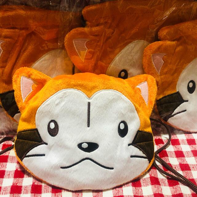 あらいぐまラスカルぬいぐるみ巾着刺繍定価1650円 同梱購入更に100円値引き エンタメ/ホビーのおもちゃ/ぬいぐるみ(キャラクターグッズ)の商品写真
