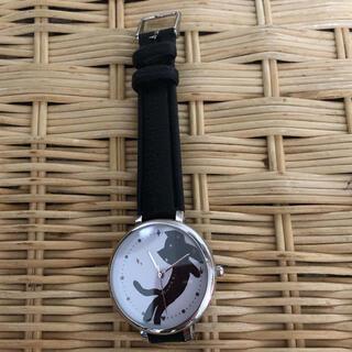 ツモリチサト(TSUMORI CHISATO)の☆ツモリ チサト 猫 腕時計 雑誌付録 美品(腕時計)