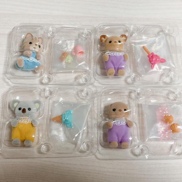 シルバニア 赤ちゃんスイーツシリーズ コンプ8点 エンタメ/ホビーのおもちゃ/ぬいぐるみ(キャラクターグッズ)の商品写真