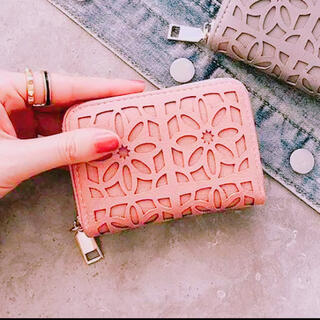 【まもなく終了】おしゃれ 可愛い 花柄 コインケース お財布 カードケース 春色