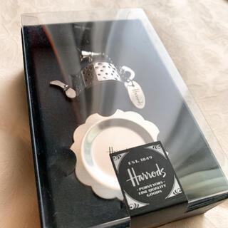 ハロッズ(Harrods)の新品❤︎ティーストレーナー Harrods(テーブル用品)