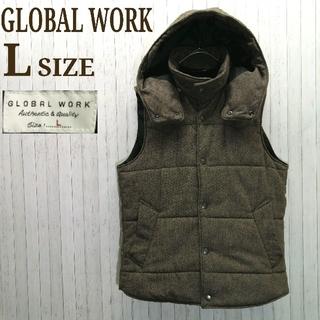 グローバルワーク(GLOBAL WORK)の【断捨離】グローバルワーク ダウンベスト Lサイズ(ダウンベスト)
