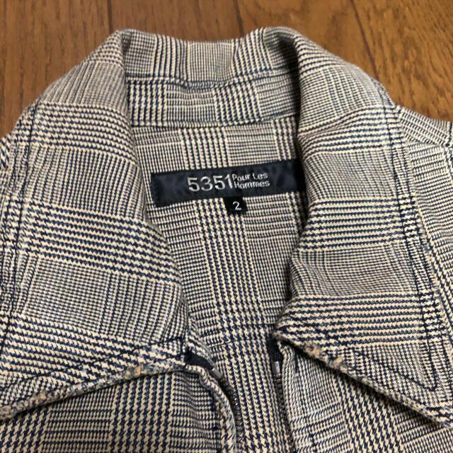 5351 POUR LES HOMMES(ゴーサンゴーイチプールオム)の5351プールオム ジャケット メンズのジャケット/アウター(ブルゾン)の商品写真